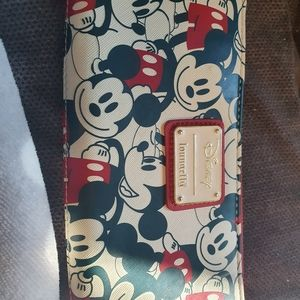 Mickey mouse loungfly wallet